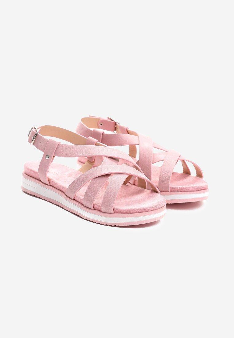Różowe Sandały Lapwing