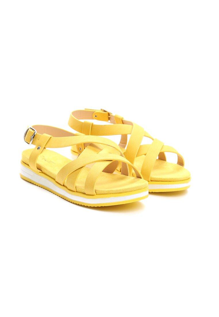 Żółte Sandały Lapwing
