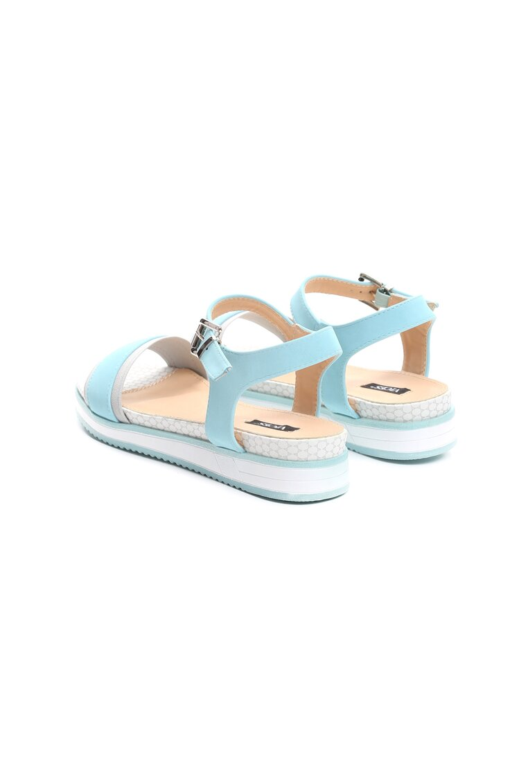 Niebieskie Sandały Imperturbable