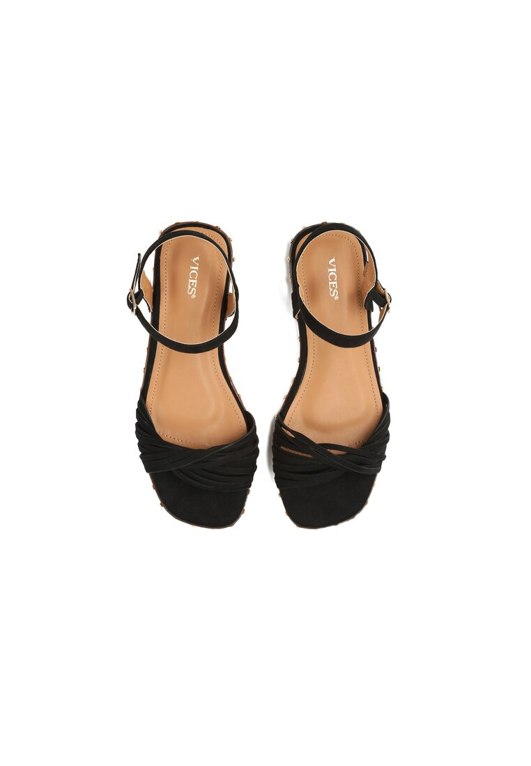 Czarne Sandały White Lady