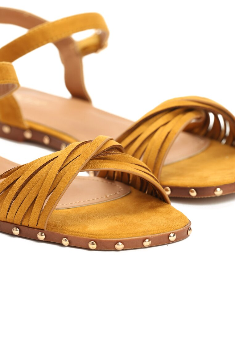 Żółte Sandały White Lady