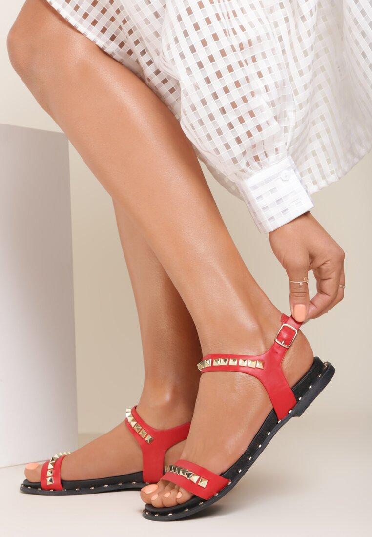 Czerwone Sandały Passionate Red
