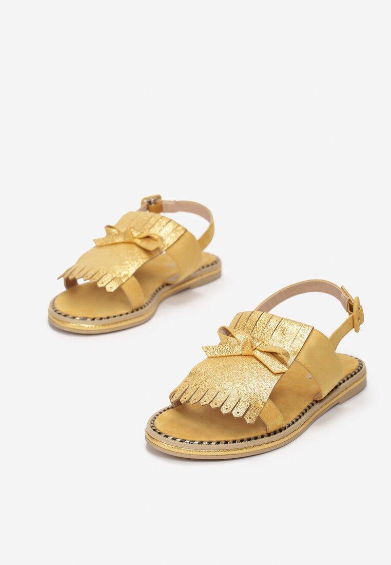 Żółte Sandały Charcoal Black