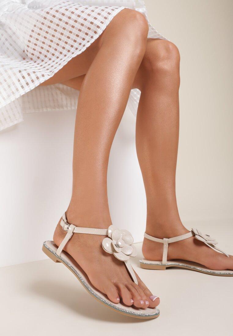 Beżowe Sandały You're a Miracle