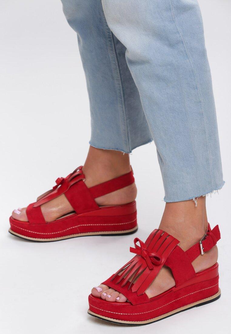 Czerwone Sandały Outrageous