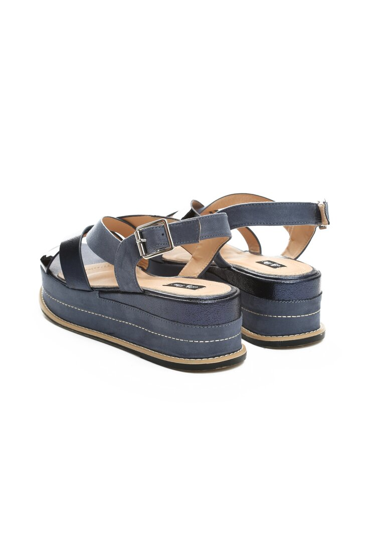 Niebieskie Sandały Periwinkle