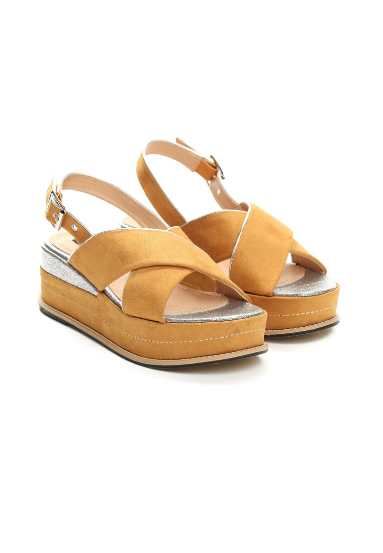 Żółte Sandały No Matter What