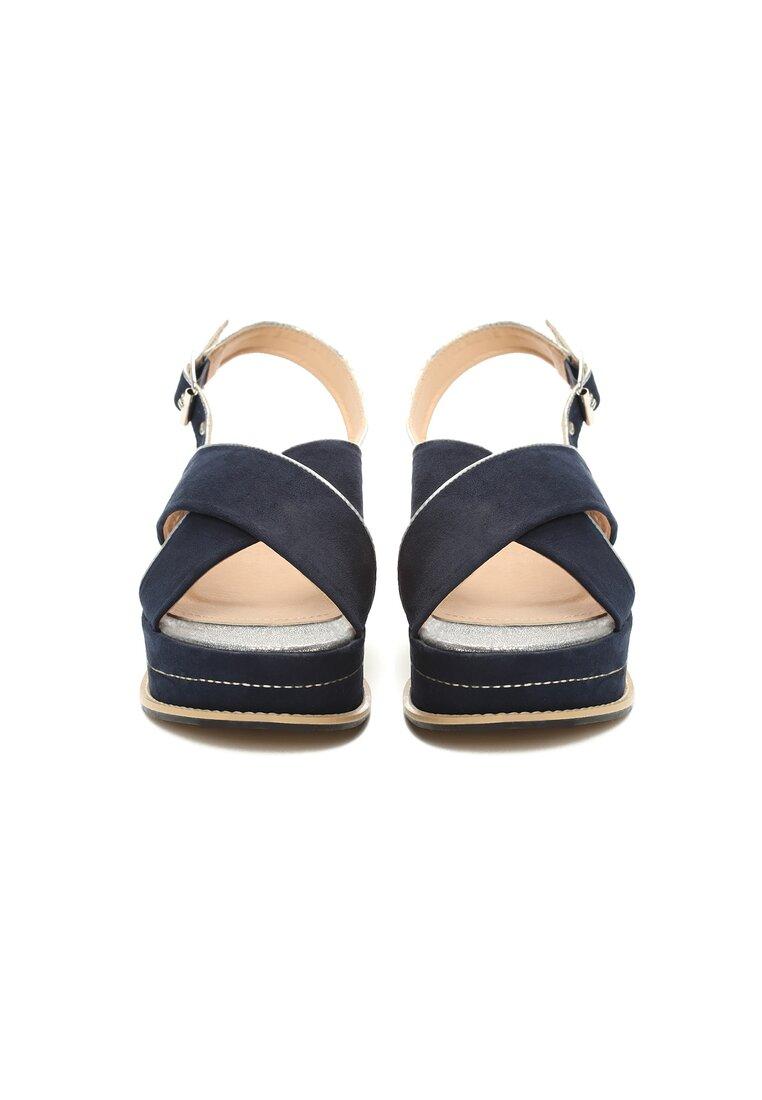 Niebieskie Sandały No Matter What