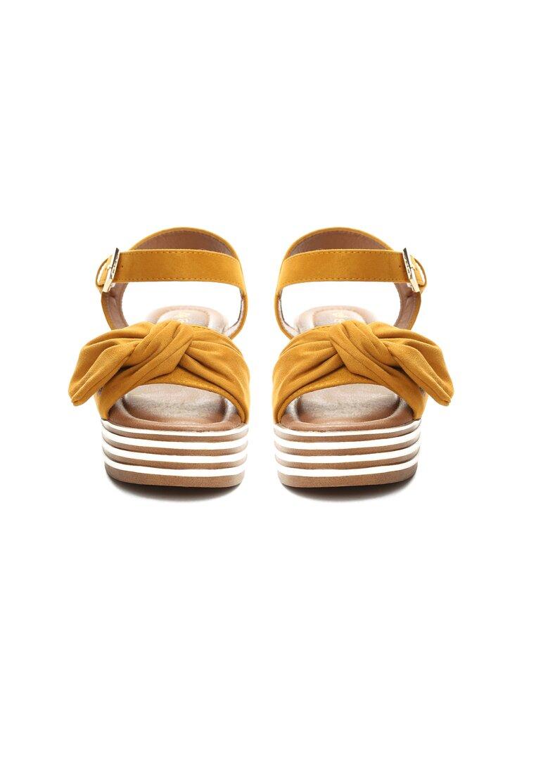Żółte Sandały Etherealize