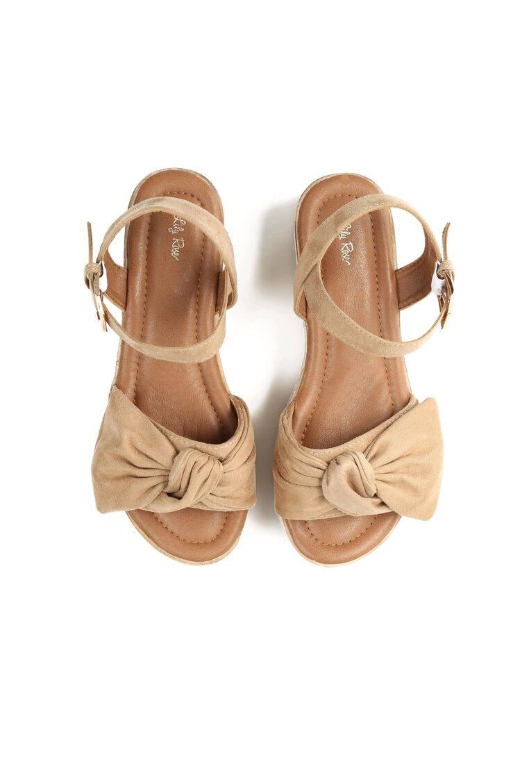 Beżowe Sandały Etherealize