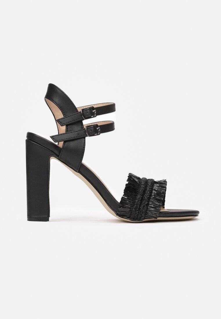 Czarne Sandały Rapeseed