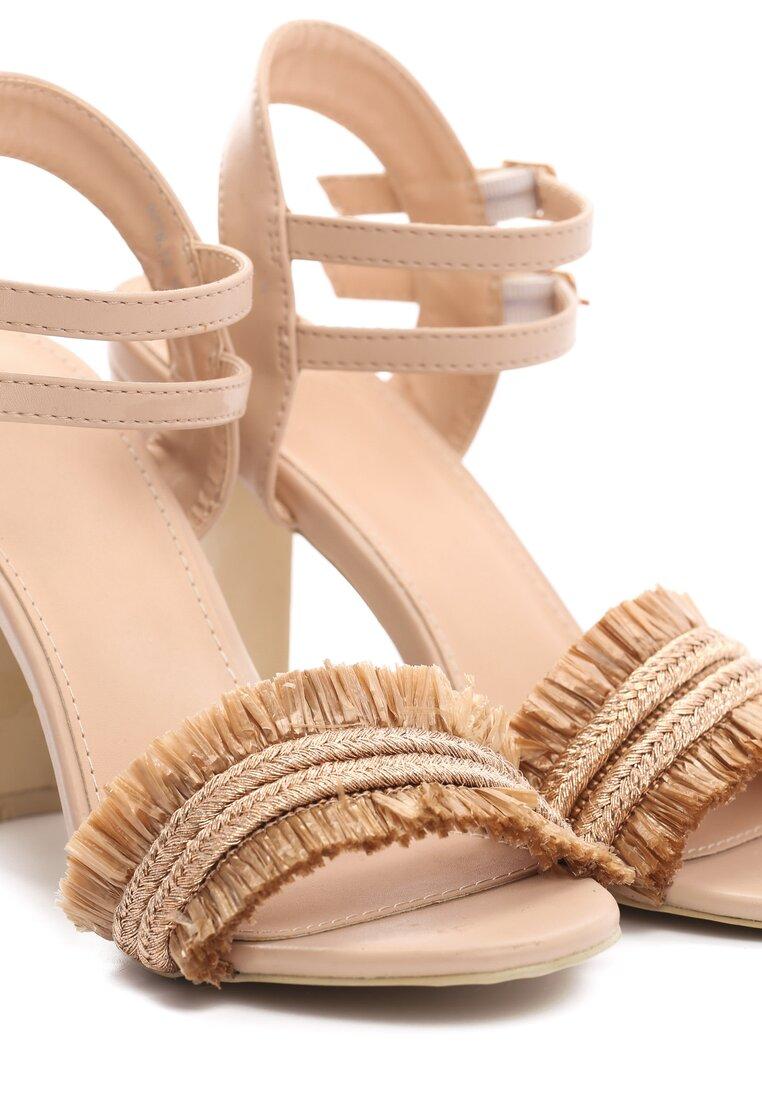 Jasnobeżowe Sandały Rapeseed