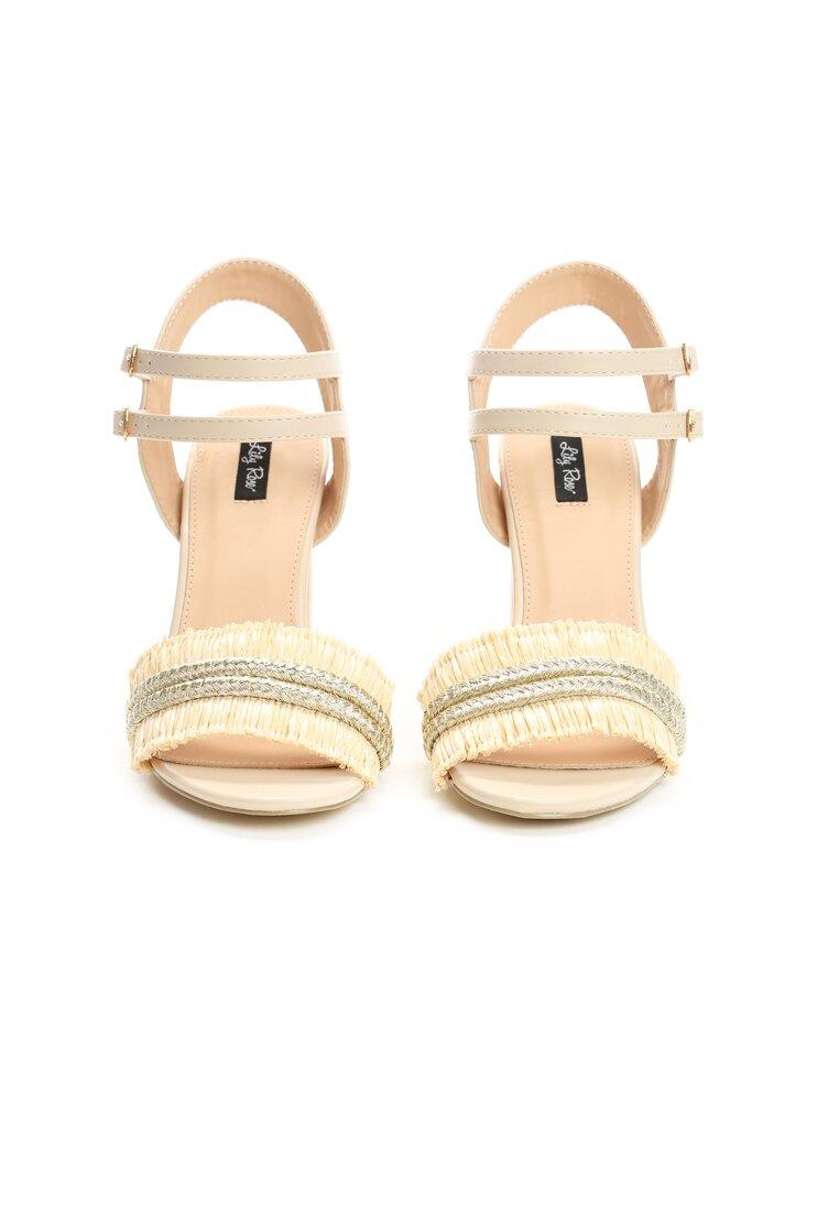 Beżowe Sandały Rapeseed