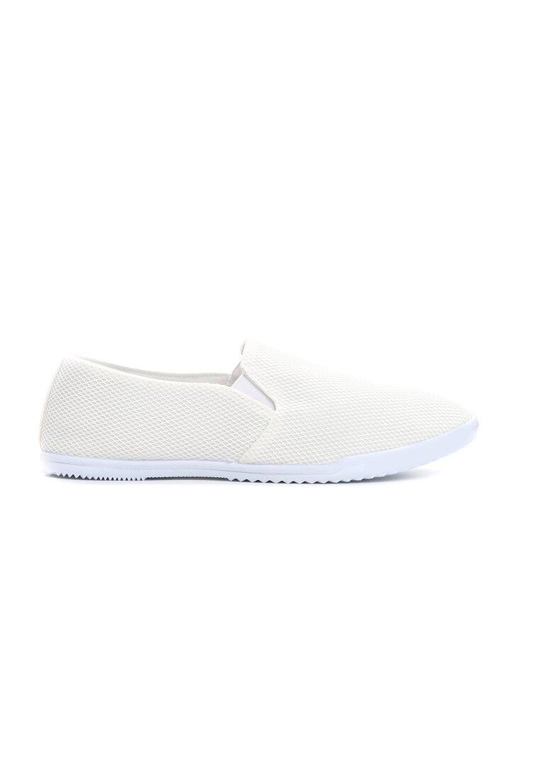 Białe Slip On Dear Friends