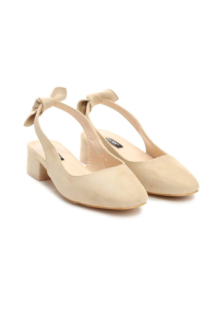 Beżowe Sandały One Like You