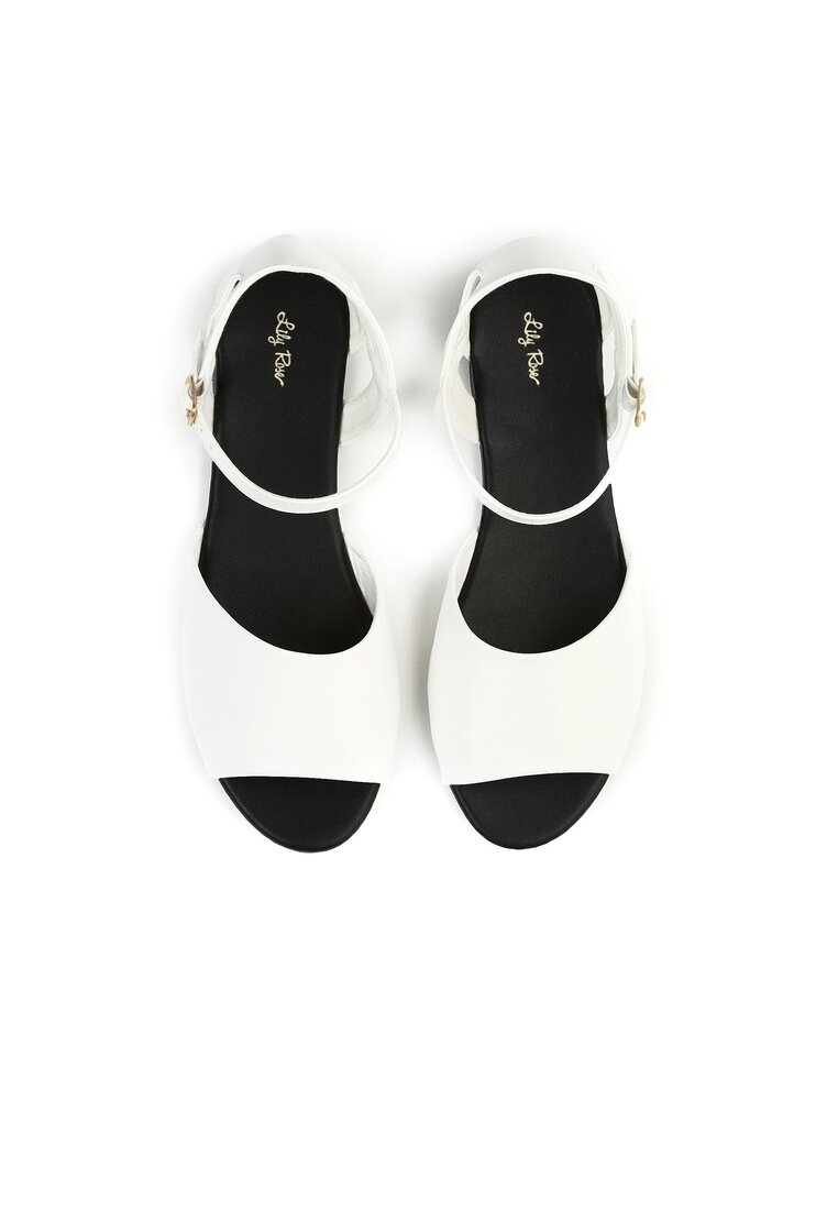Białe Sandały Boogie Man