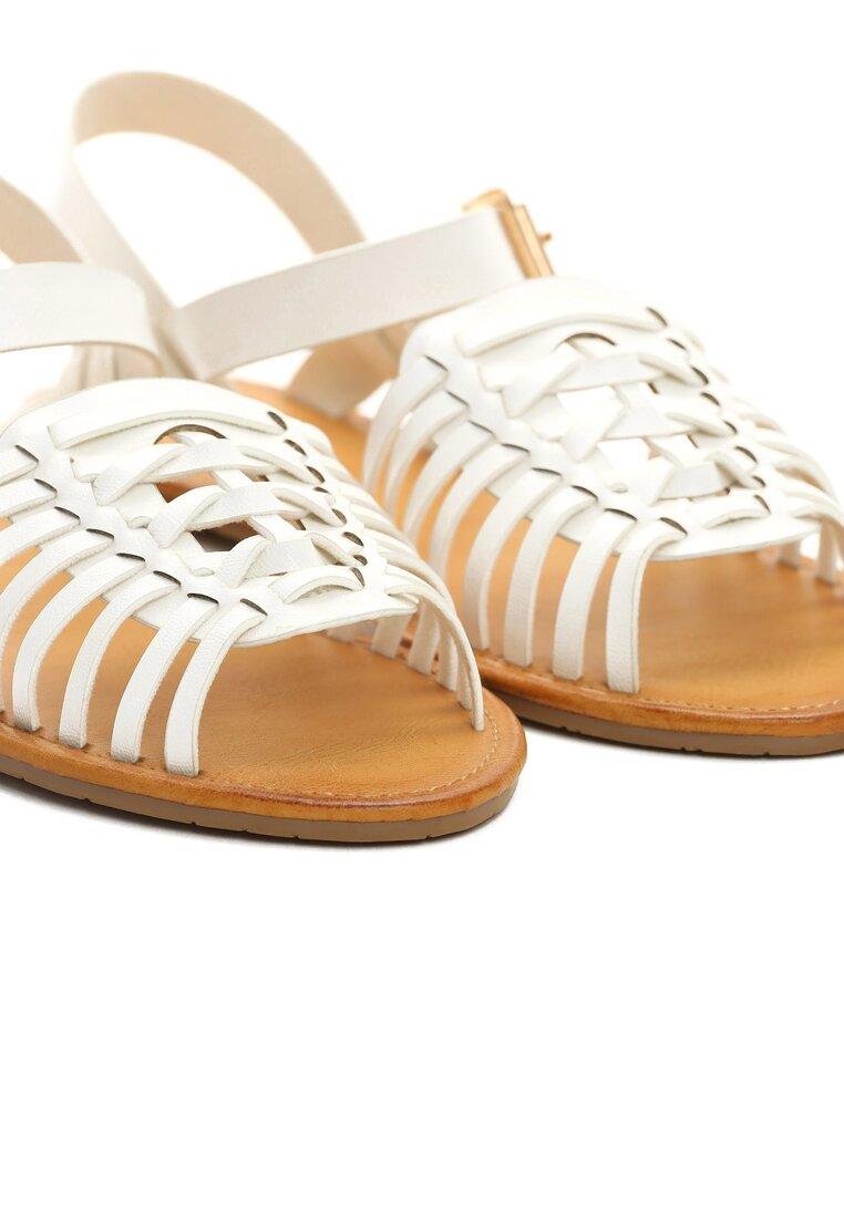 Białe Sandały Outsider