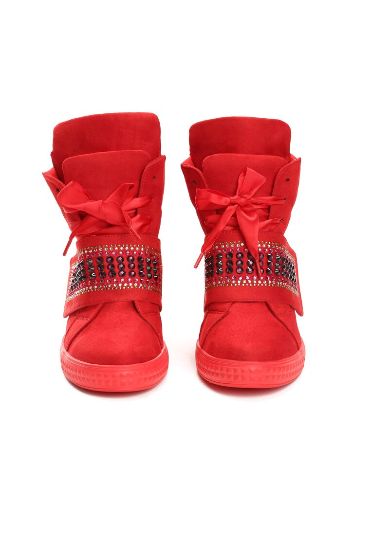 Czerwone Sneakersy Want Me