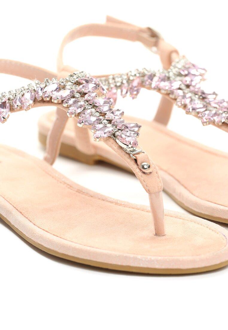 Różowe Sandały French Kissin