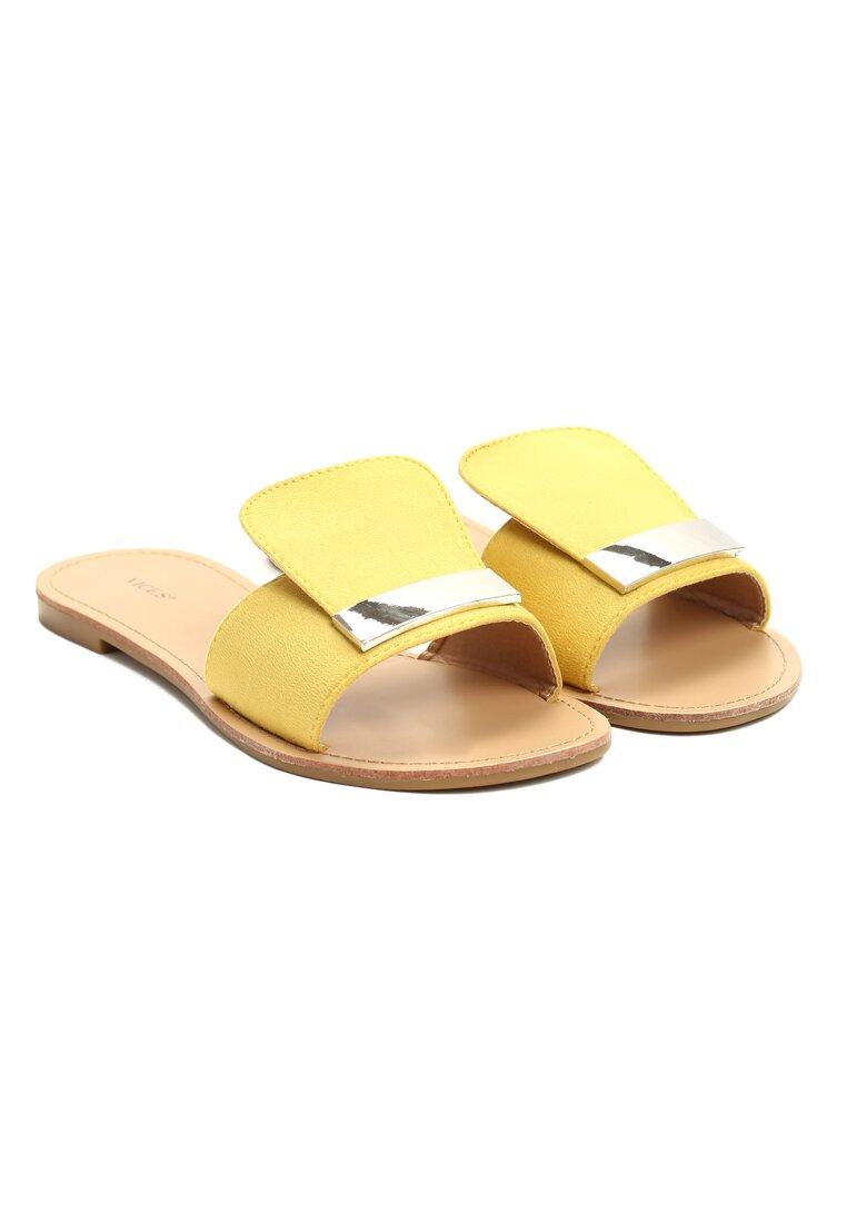 Żółte Klapki Parlor Palm