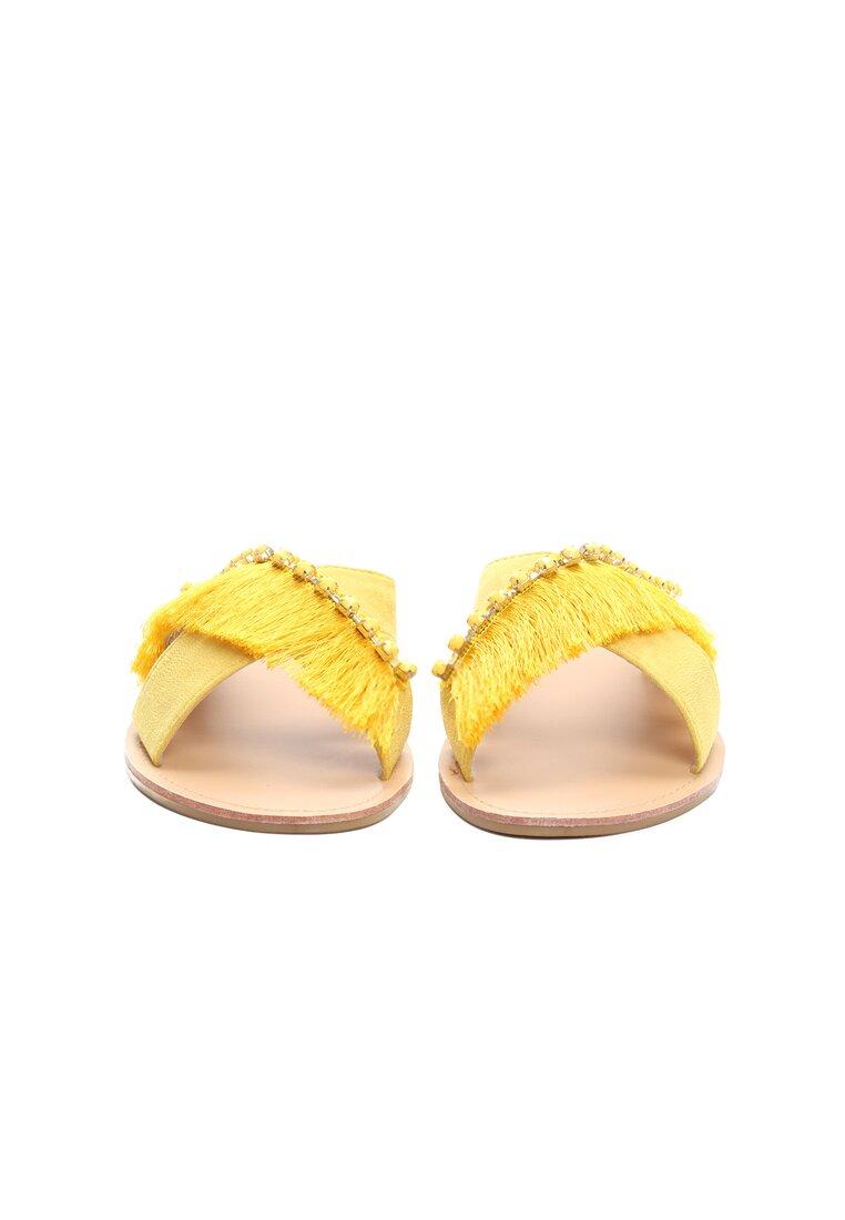Żółte Klapki Stand Out