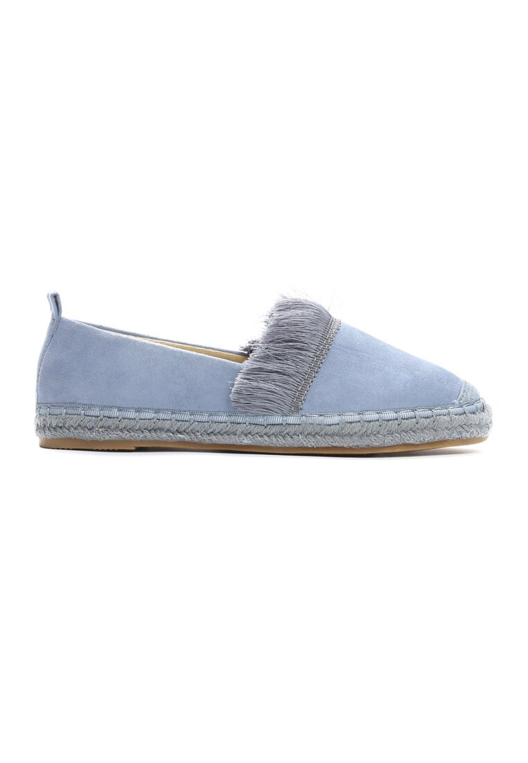 Niebieskie Espadryle To The Middle