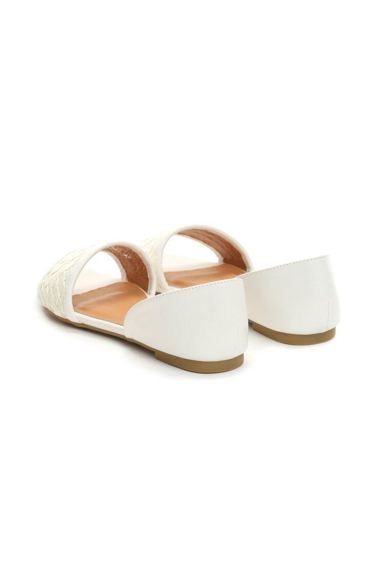 Białe Sandały City Dream