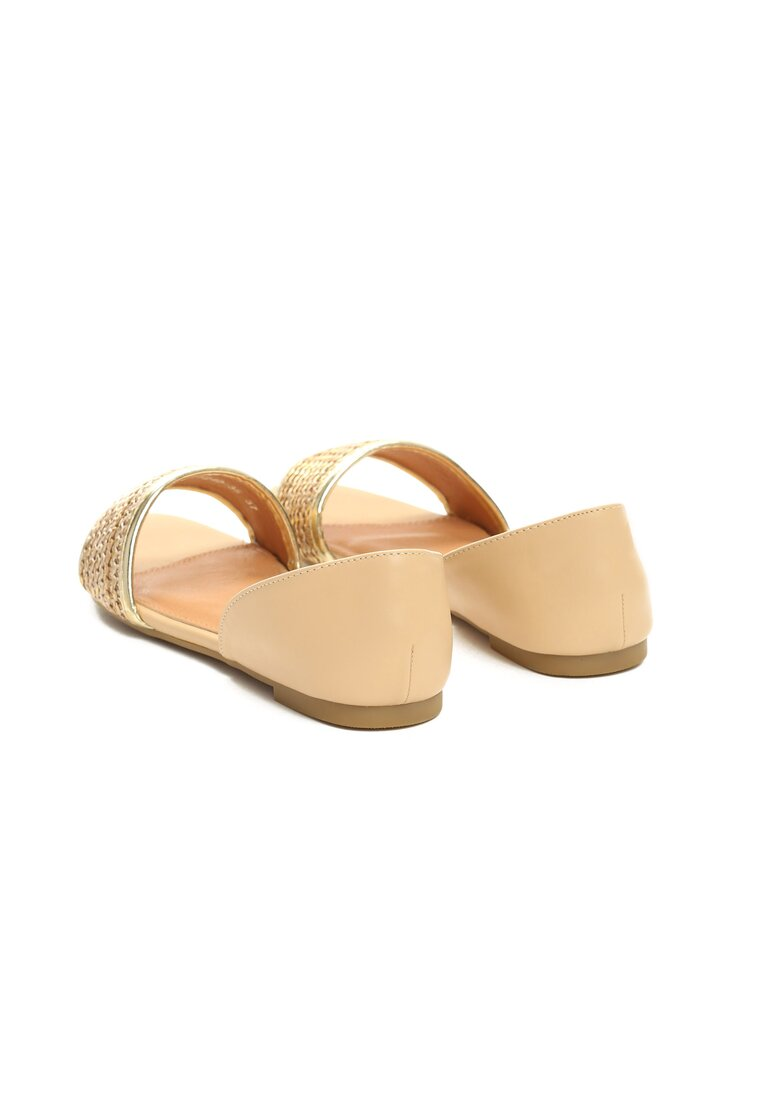Ciemnobeżowe Sandały Just Be Good To Me
