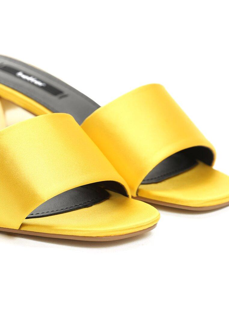 Żółte Klapki Cyclone