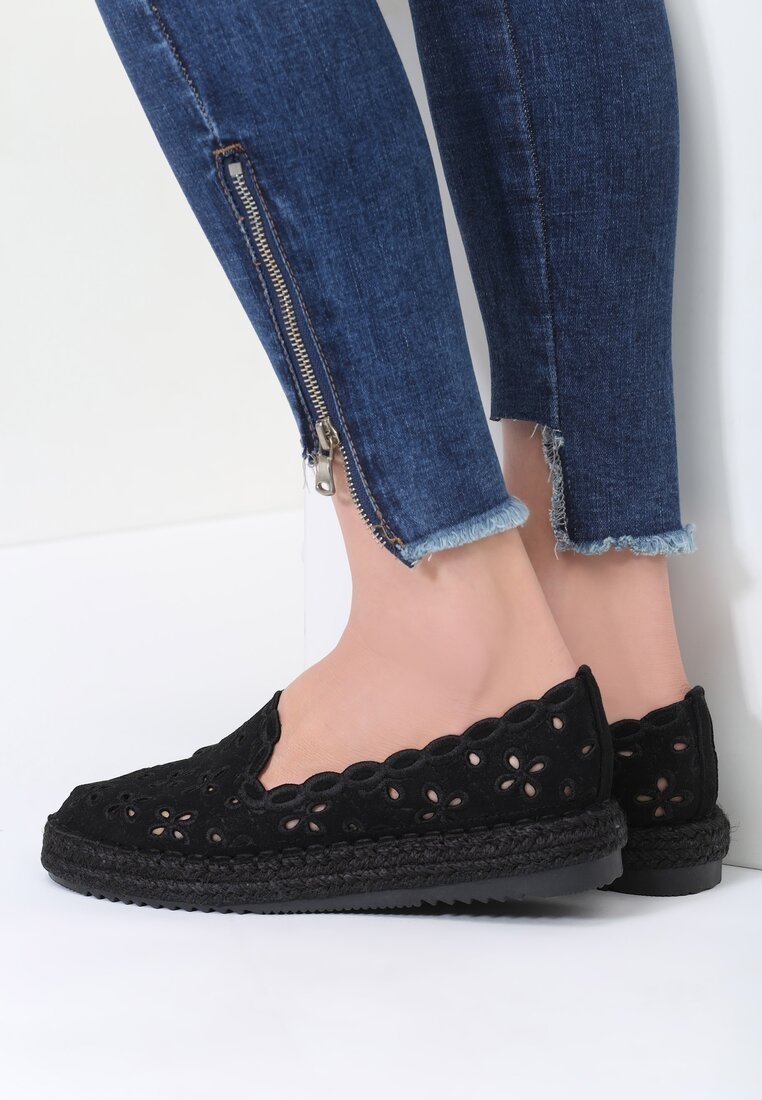 Czarne Espadryle Break The Dawn