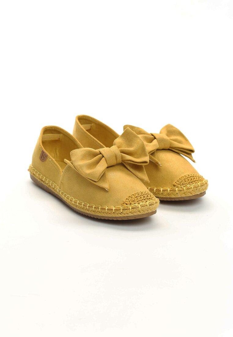 Żółte Espadryle Step Out