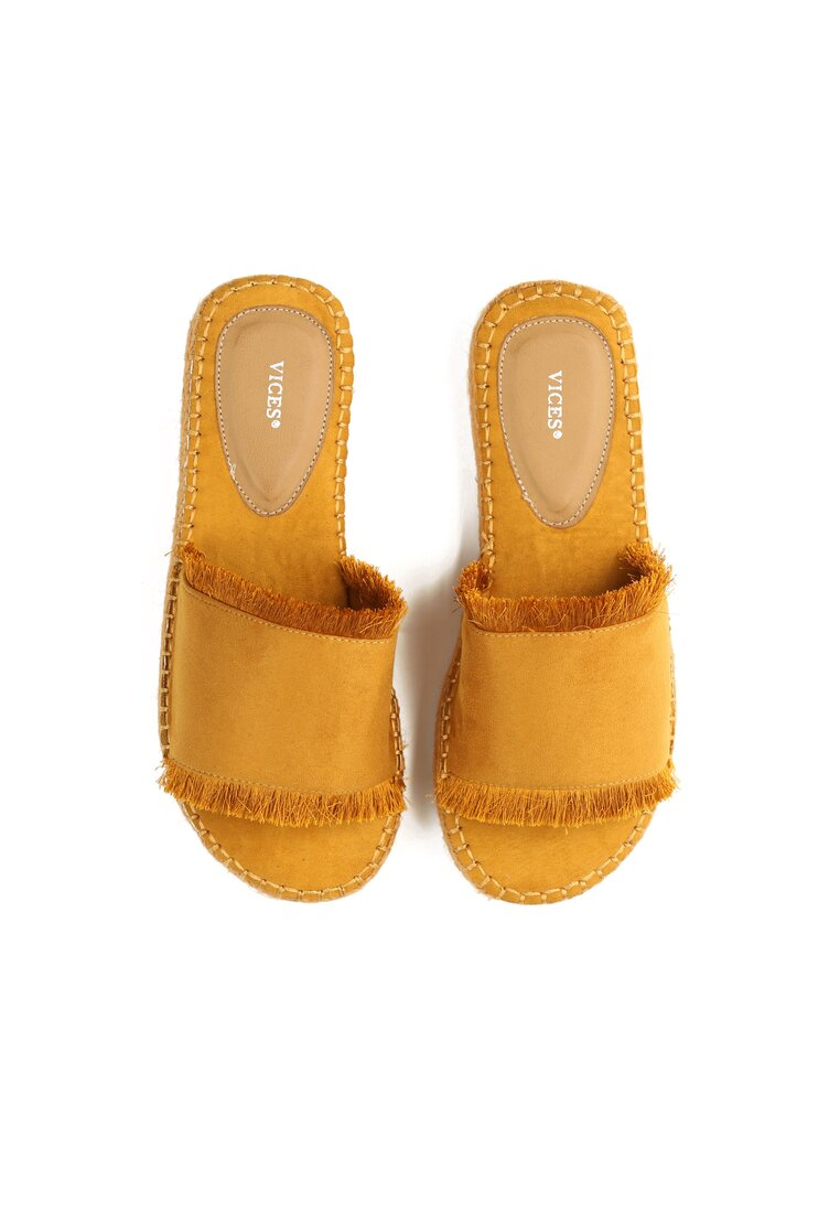 Żółte Klapki Princess Dream