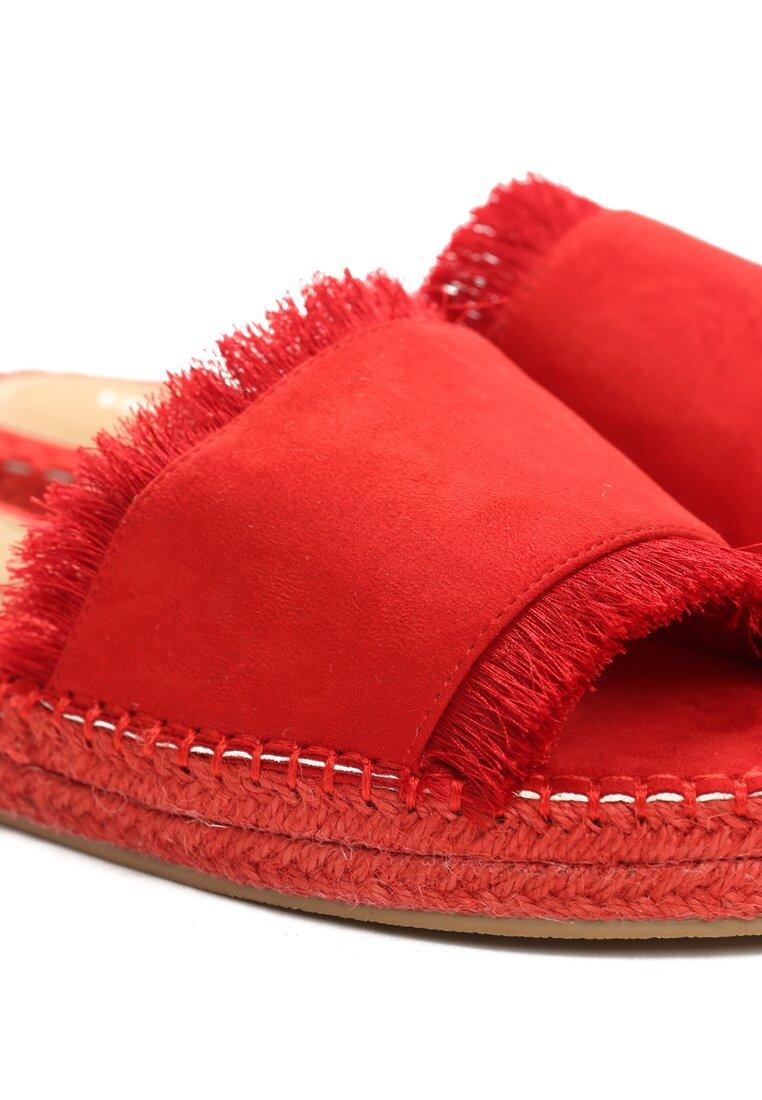 Czerwone Klapki Princess Dream