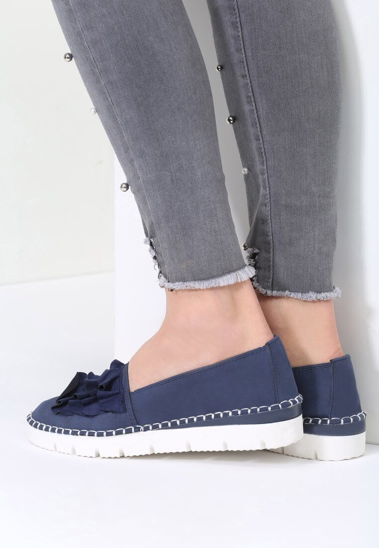 Niebieskie Slip On Choose