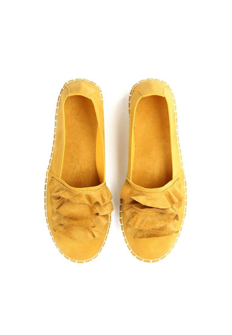 Żółte Espadryle Choose