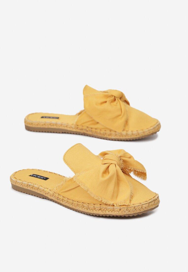 Żółte Klapki Persimmon