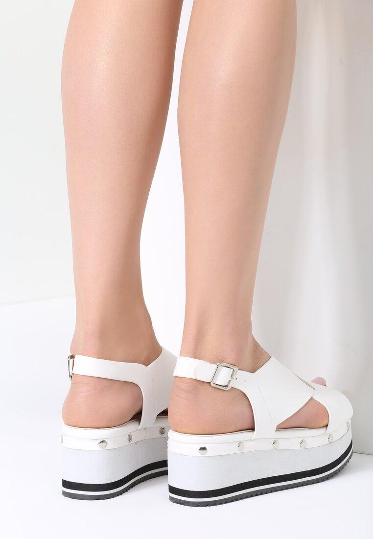 Białe Sandały Sunglow