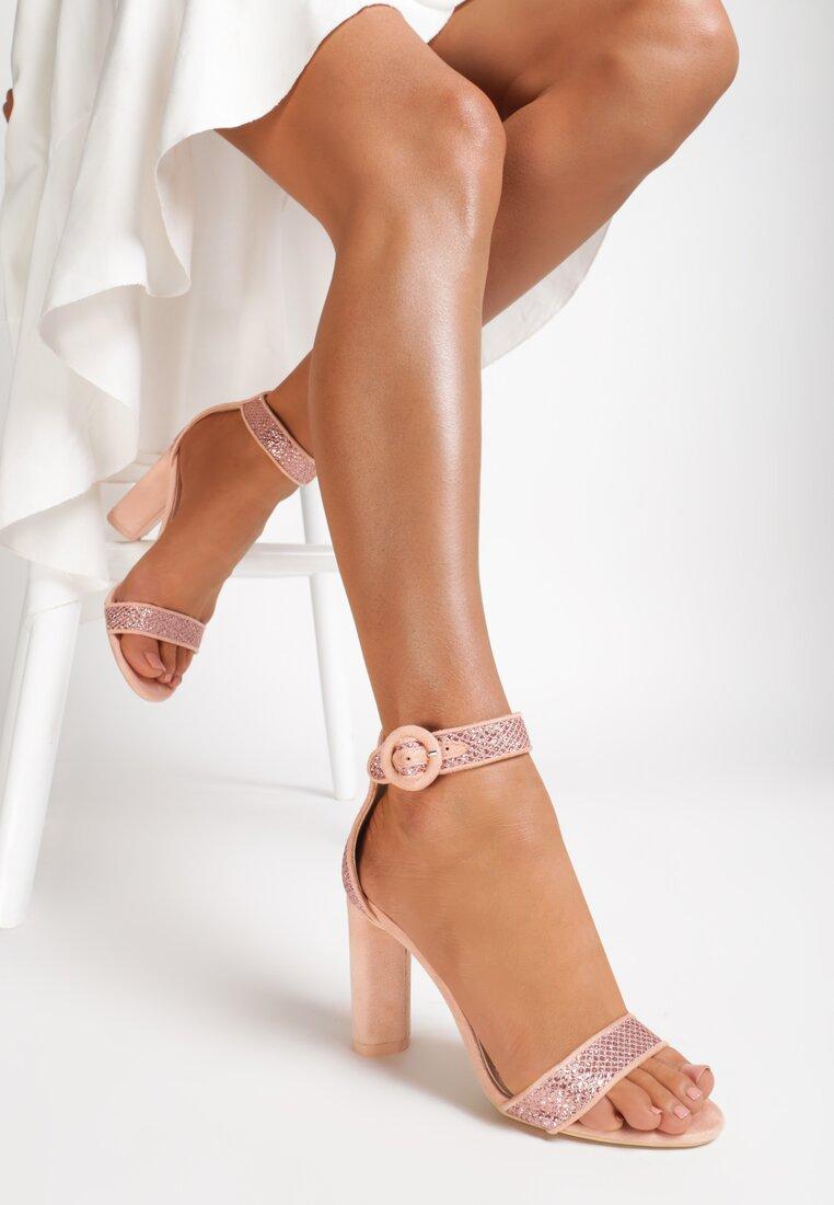 Różowe Sandały Open Your Arms