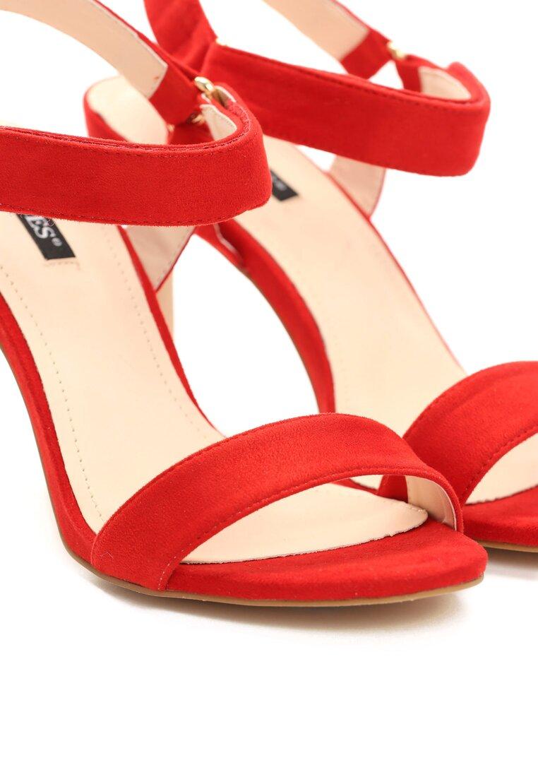 Czerwone Sandały Often Enough