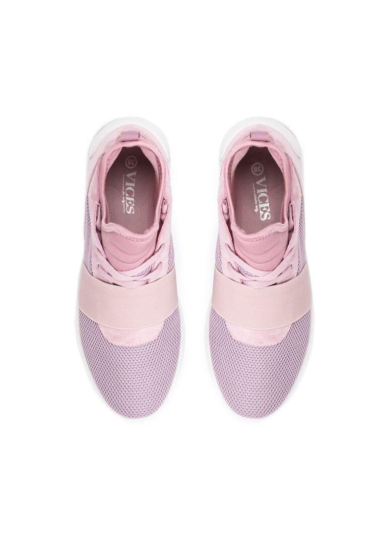 Różowe Buty Sportowe Paper Fuse