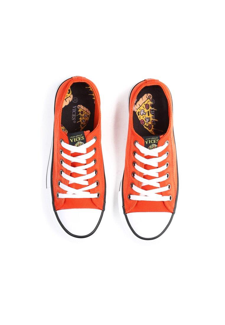 Pomarańczowe Trampki Don't Stop