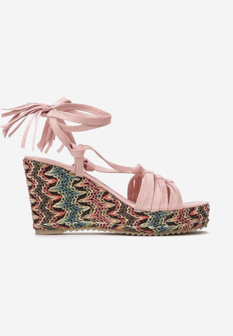 Różowe Sandały Fawn