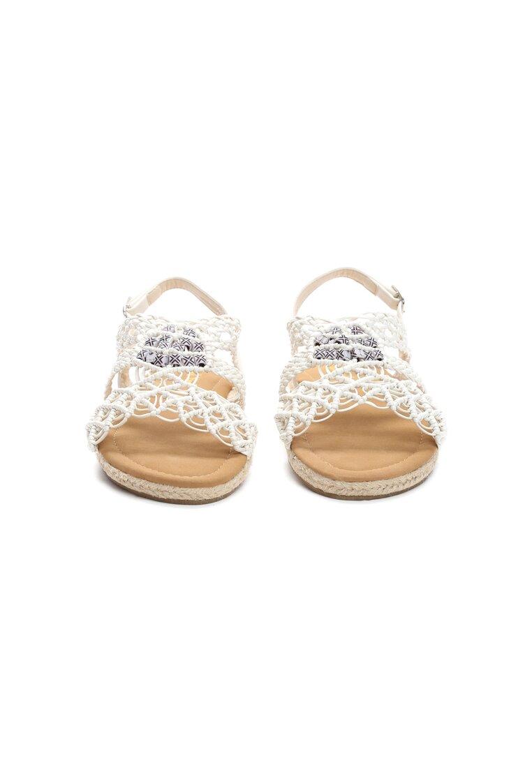 Białe Sandały Spiteful