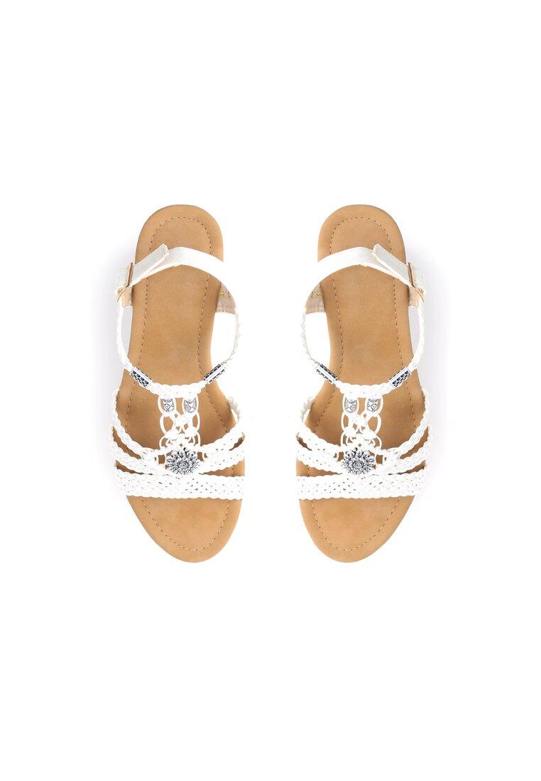 Białe Sandały Forbearance