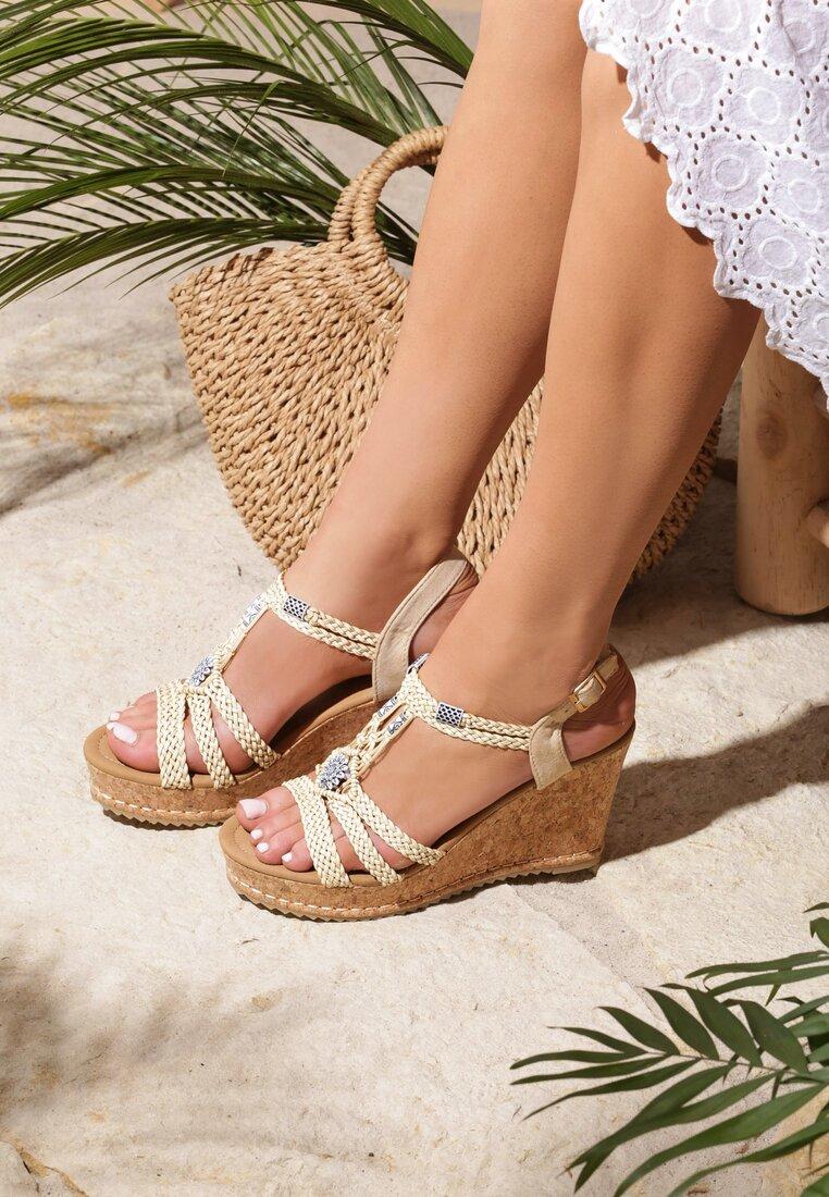Beżowe Sandały Forbearance