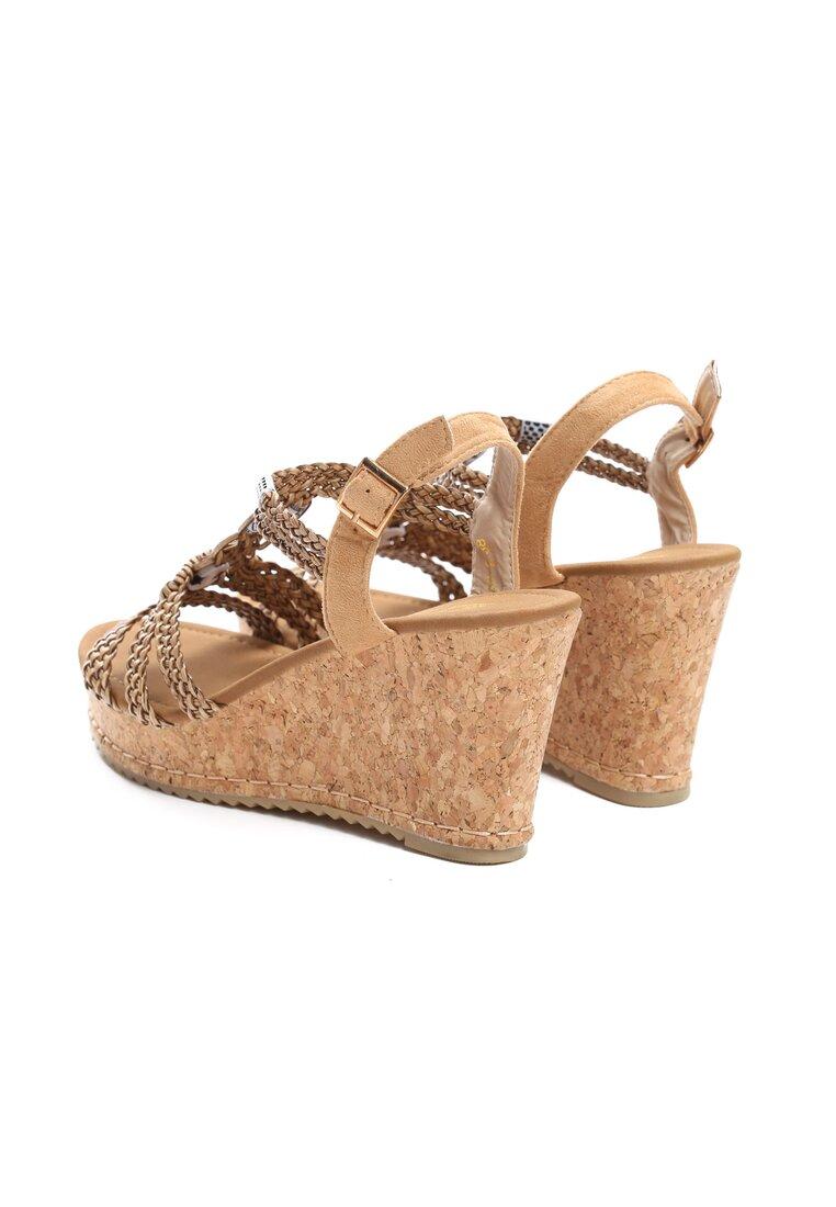 Brązowe Sandały Forbearance