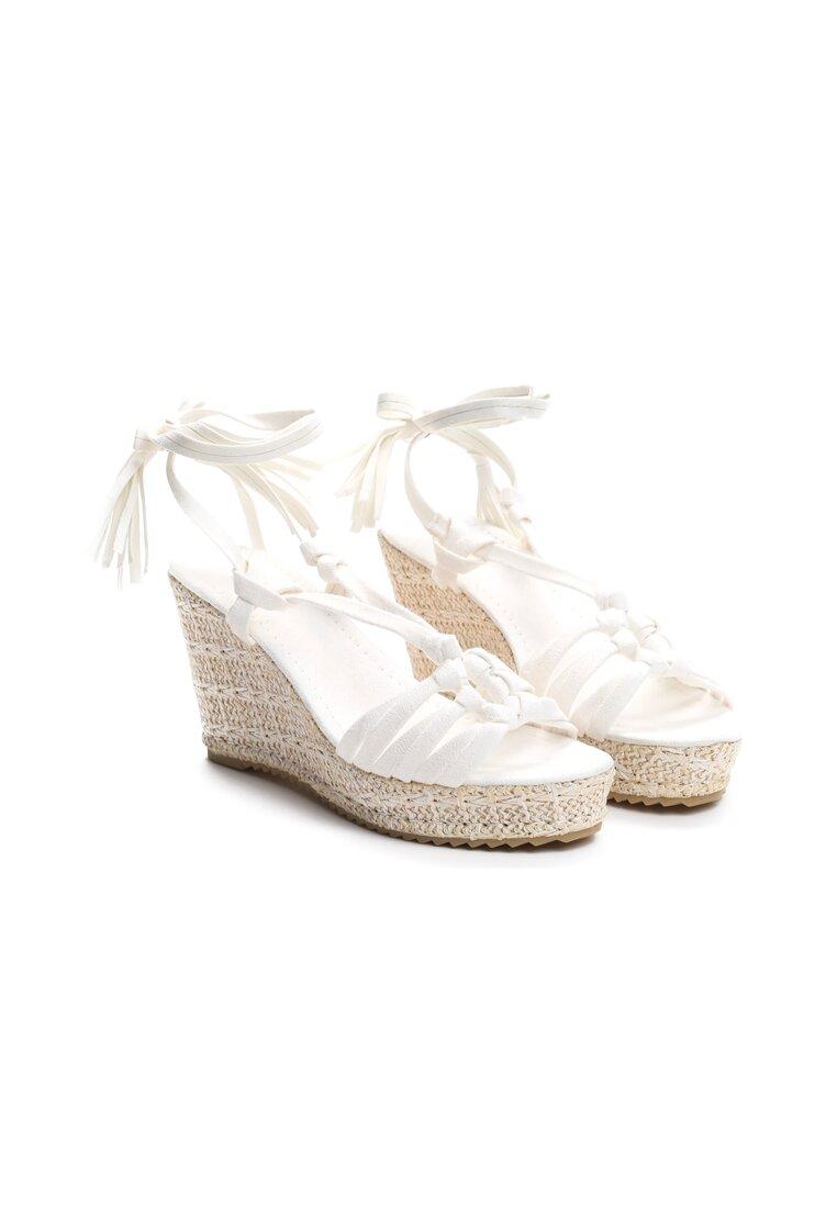 Białe Sandały Tuscan