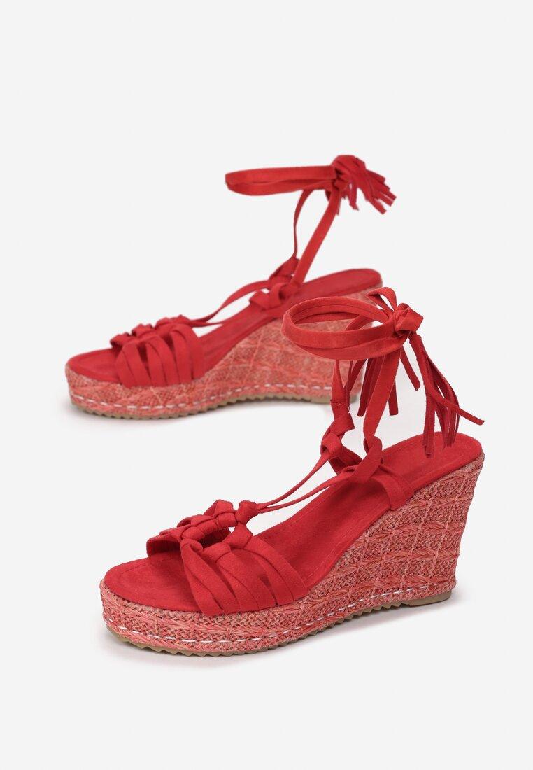 Czerwone Sandały Tuscan