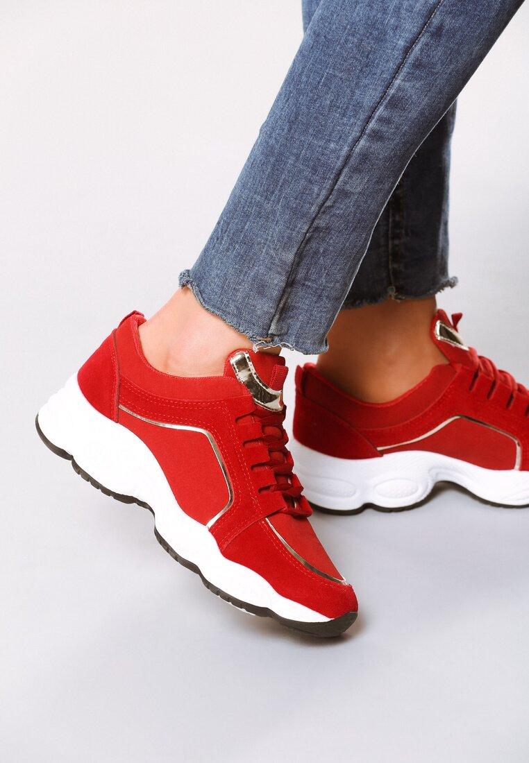 Czerwone Sneakersy Long Run