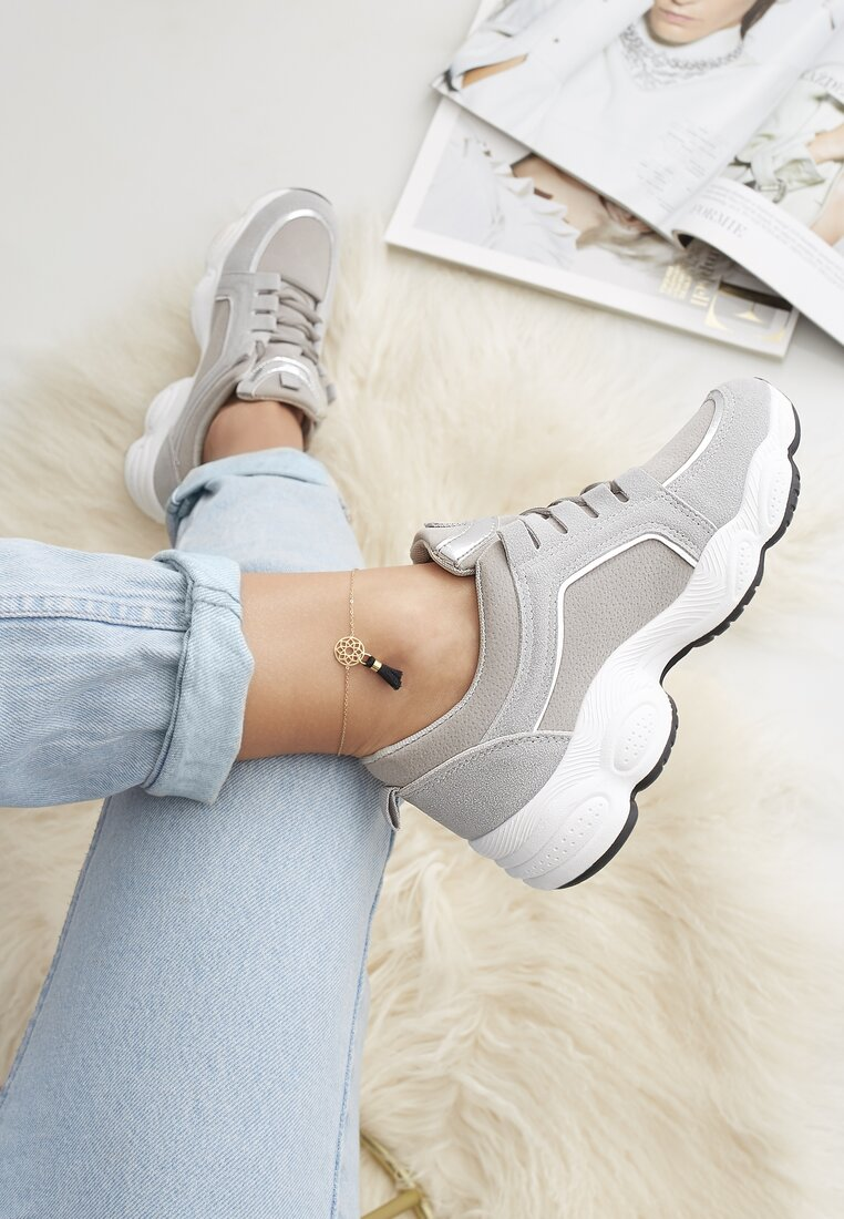 Szare Sneakersy Long Run